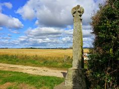 Lord Dacre's Cross. The memorial to the 1461 battle is named after one of the Lancastrians who was killed there.
