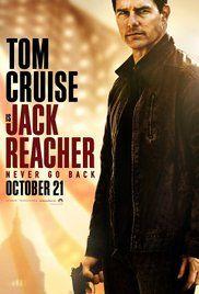 Jack Reacher: Paluu päämajaan Poster