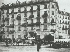 In 1863, when London Banker William Currie started building it, the Beau Rivage had only seventy rooms and, as its historian noted, only eleven windows on the front which overlooked the lake - this is the hotel where Empress Elisabeth of Austria died. She was killed outside of the hotel, while she stayed there.  The last journey of Empress Elisabeth of Austria started in Geneva.