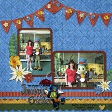 Jiminy Cricket - MouseScrappers - Disney Scrapbooking Gallery