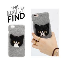 """""""The Daily Find: White Witch Wool Phone Case"""" by polyvore-editorial ❤ liked on Polyvore featuring DailyFind"""