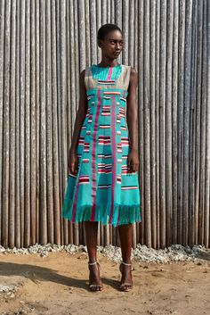Kente midi dress for traditional/church weddings African American Fashion, African Inspired Fashion, African Print Fashion, African Print Dresses, African Dress, African Prints, African Clothes, African Textiles, African Wear