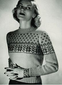 Etno style Nordic Icelandic fashion