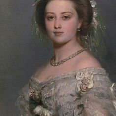 Victoria, Princess Royal, Empress of Germany, was born as the daughter of Queen Victoria and Prince Albert