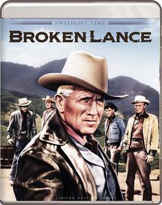 Broken Lance - Blu-Ray (Twilight Time Ltd. Region A) Release Date: Available Now (Screen Archives Entertainment U.S.)