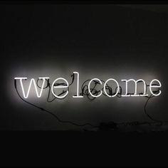 Seletti Neon Art Font Set Wall Lights 'welcome' Black Aesthetic Wallpaper, Black And White Aesthetic, Aesthetic Colors, Aesthetic Backgrounds, Aesthetic Pictures, Preto Wallpaper, Neon Wallpaper, Black Wallpaper, Black And White Picture Wall
