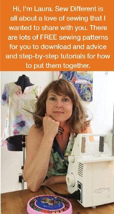 Free sewing patterns for women. For zip-haters everywhere! Zip-free patterns to download and print at home for the UK and the US. Which fabric do I choose? How do you make bias binding? Where do I find a pattern I actually want to wear. Answers all found on Sew Different. Subscribe to our newsletter or send in a photo of your own make from a Sew Different pattern to be featured in it yourself!