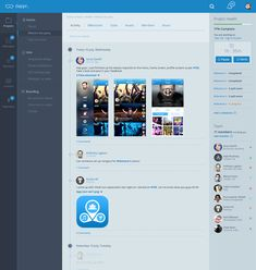 dappr - projects collaboration tool concept by Avinash Tripathi