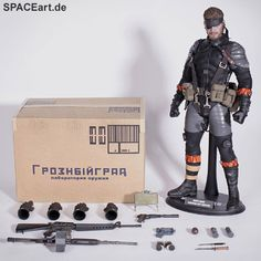 Metal Gear Solid 3: Naked Snake - Deluxe Figur ... http://spaceart.de/produkte/mgs001.php