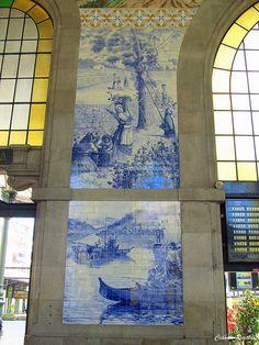 Estação São Bento - Porto - Portugal