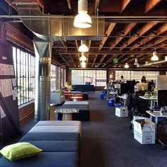 Pinterest office in San Francisco