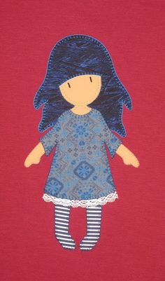 cocodrilova: camiseta gorjuss  #camiseta #gorjuss #handmade
