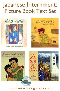 Japanese Internment: Picture Book Text Set | The LogonautsCollection of picture books for introducing kids to the history of Japanese internment in the United States.