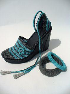 The Big Egyptian Crochet Wedges created by LeeLu