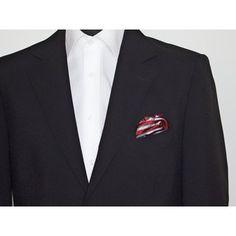 Gentleman, Blazer, Jackets, Fashion, Grey Stripes, Silk, Red, Down Jackets, Moda