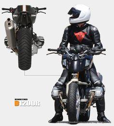 Demostener D1200R Concept Motorcycle