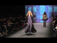 Anna Sui  Fall 2015 Collection