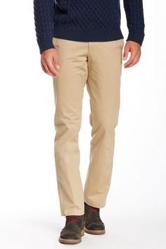 """Gramercy Twill Straight Pant - 30-34"""" Inseam by Bonobos on @nordstrom_rack"""