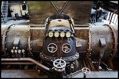 From Belgium, a control for steam turbine..  A natural steampunk control