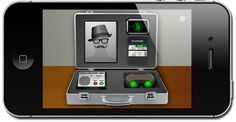Spy Tools for Kids - iPhone / iPod app with disguises, fingerprint scanner, night vision goggles, voice changer