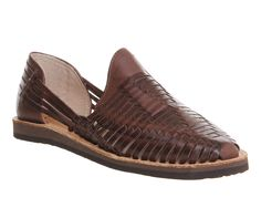 Chamula Cancun Closed Toe Sandal in Brown - Save 40% | Lyst