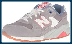 New Balance WRT580RE, Damen Gymnastikschuhe grau grau 7 - Sneakers für  frauen (*Partner