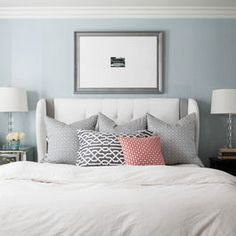 Bedroom Photos Coral And Teal Design Ideas, Pictures, Remodel, and Decor - page 40