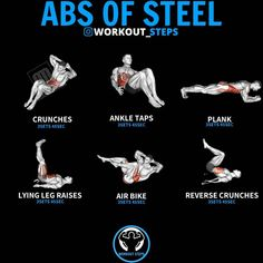 Weight Training Workouts, Workout Tips, Fun Workouts, At Home Workouts, Fitness Tips, Health Fitness, Best At Home Workout, Reverse Crunches, Leg Raises