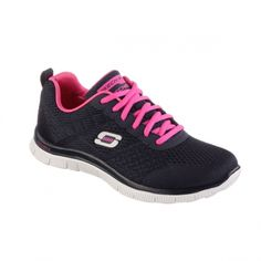 644978ff1736 Sketchers - Womens Flex Appeal Fitness Shoes (with MEmory Foam Insole)  (size 7