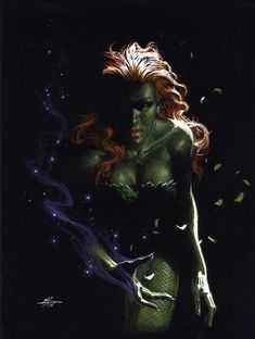 Poison Ivy Out of Darkness Gabriele Dell'Otto Comic Art
