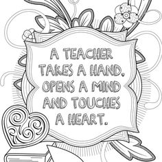 Adult colouring pages for educators! by ᴊᴜᴀɴᴀ