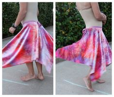 homemade dancing skirt tutorial