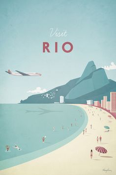 Rio by Henry Rivers - canvas print