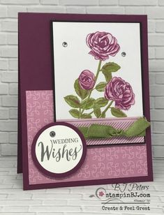 Petal Garden Memories & More, Stampin' Up!, BJ Peters