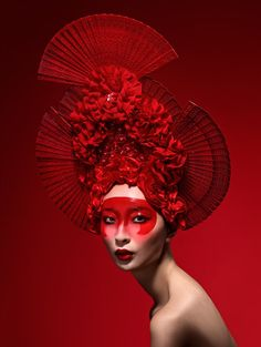 New Beauty November 2014 Photographer: Lindsay Adler Makeup: Georgina Billington Makeup Artist, Georgina Billington, brings the spirit and beauty of culture from the Far East in this stunning red themed…