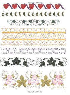 Borders from The Big Book of Decorative Borders by Jodie Bushman: