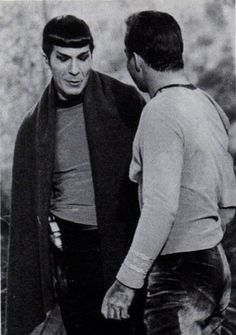 Hello sailor  Leonard Nimoy, William Shatner