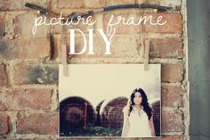Sincerely, Kinsey: Branch Picture Frame DIY