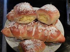 schnelle softe Pudding-Hörnchen « kochen & backen leicht gemacht mit Schritt für Schritt Bilder von & mit Slava