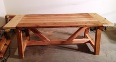 Ana White 4x4 Truss Table built by Anthony Berg 02