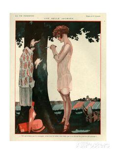 Georges Léonnec (1881 - 1940). La Vie Parisienne, 1929? [Pinned 13-i-2015]