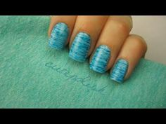 She Presses Dental Floss Onto Her Nail. Now Watch As She Pulls It Off — I LOVE This Look!