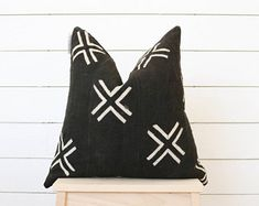 Modern Farmhouse Mudcloth Pillow