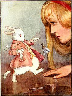 Alice in Wonderland, Margaret Tarrant