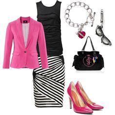 @KaylaLauren   sorry I just love the pink blazer!!!