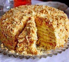 Торт «Светлана» без выпечки | Самые вкусные кулинарные рецепты