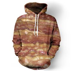 Bacon Hoodie this looks really discussing but I hat to pin it because it was bacon.