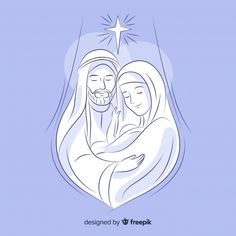Christmas Jesus, Christmas Nativity Scene, A Christmas Story, Christmas Art, St Joseph, Catholic Wallpaper, Image Jesus, Christian Pictures, Some Beautiful Pictures