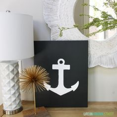 This would be such a good end of yr gift for my kids teachers- since their mascot is a Mariners. Even a ship..