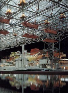 Time Wasting Machine - infiniteinterior: Osaka Expo '70 Kenzo Tange